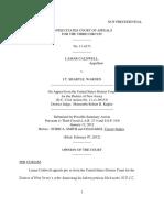 Lamar Caldwell v. J.T. Shartle, 3rd Cir. (2012)