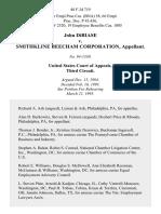 John Dibiase v. Smithkline Beecham Corporation, 48 F.3d 719, 3rd Cir. (1995)
