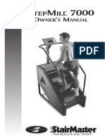 StepMill 7000 Owner's Manual