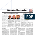 August 10 - 16, 2016  Sports Reporter