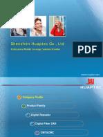 Huaptec Company Profile 2016