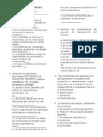 Evaluacion de Ciencias Naturales 8