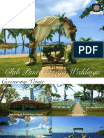 Club Punta Fuego Wedding Package 2016 2018 6