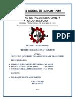 TRABAJO ENCARGADO (PROYECTO AERONAUTICO)- GRUPO N°6