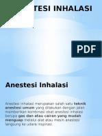 Anestesi Inhalasi