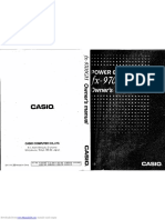 Casio fx9700gh Manual