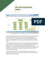 Formulación de Proyectos Agropecuarios