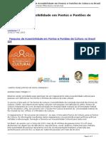 Corais - Pesquisa de Acessibilidade Em Pontos e Pontoes de Cultura No Brasil - 2015-07-20