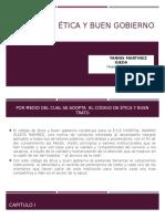Codigo de Etica y Buen Gobierno. Diapositivas