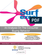 Consumer Behavior Project_Interim Report_Surf Excel