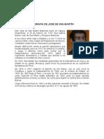 Biografía de José de San Martín