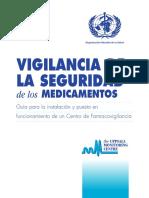 Vigilancia de La Seguridad de Los Medicamentos