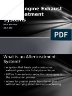 Diesel Engine Exhaust Aftertreatment Systems