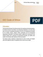 IOC Code of Ethics (2016)
