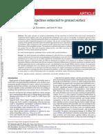Buried Pipeline Analysis