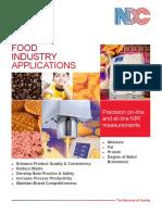 Sensor Húmedad Grasa y Proteína Para Alimentación