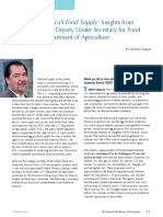 Protecting the US Food Supply