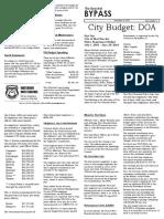 The Buechel Bypass -11/16/15 - West Buechels' Budget Disaster - Part I
