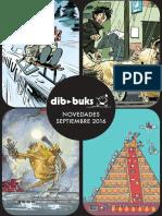 Novedades de Dibbuks para septiembre de 2016
