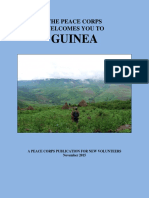 PEACE CORPS Guinea Welcome Book 2015