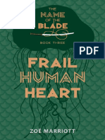 Frail Human Heart by Zoe Marriott Chapter Sampler