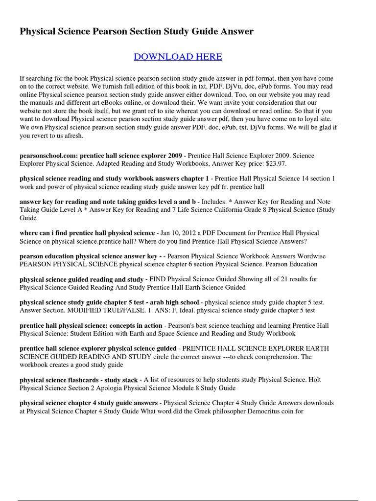 Prentice Hall Worksheet Answers jannatulduniya – Pearson Worksheet Answers