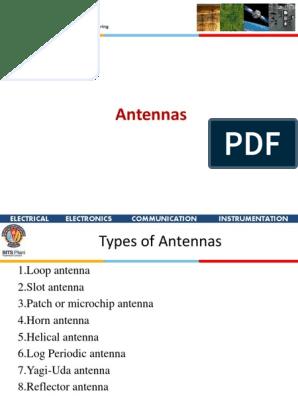 Antennas_4 Types of antenna pdf   Antenna (Radio