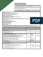 Plan de evaluación bloque I Tercer grado.