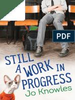Still a Work in Progress by Jo Knowles Chapter Sampler