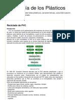Reciclado de PVC