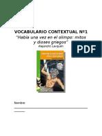 Vocabulario Contextual HABIA UNA VEZ EN EL OLIMPO.doc