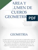 Area y Volumen de Cuerpos Geometricos