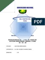 Unidad 5 Tema 18 19 20 gestión empresarial