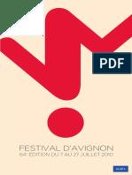 Programme Festival Avignon 2010