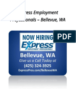 Express Employment Professionals – Bellevue, WA