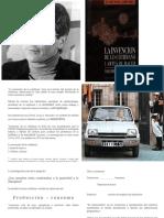 """De Certeau - ppt - """"la invención de lo cotidiano"""""""