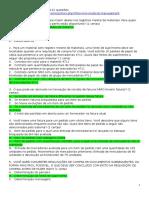 Simulado MM (PROPROFS) - Respostas