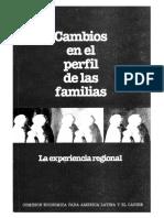 Cambios en El Perfil de Las Familias La Experiencia Regional - CEPAL