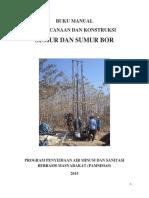 Perencanaan Konstruksi Sumur Bor Bangunan Sumber Air Lainnya
