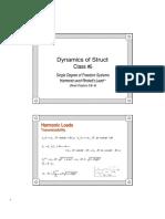 05 SDOF Harmonic Periodic [Compatibility Mode]
