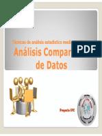 Análisis Comparativo de Datos