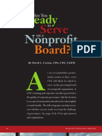 Are You Ready to Serve on a Nonprofit Board