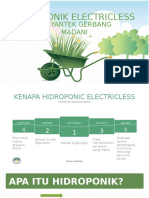 Hidroponic Electricless
