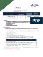 Facultad Mexicana de Medicina 2016 LA SALLE