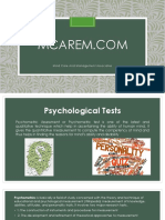 Psychometric Assessment and Psychometric test with neurofeedback, LLLT and brain therapy in mumbai by McareM.com