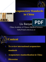 Acupuncture Standards China Baoyan 2009