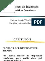 Valor Dinero en El Tiempo Cap2 I Vélez Pareja Slides