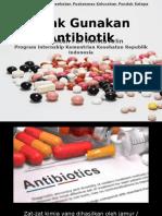 Penyuluhan Resistensi Antibiotik