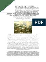La Batalla de Plevna