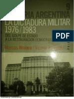 Historia de La Dictadura Militar Argentina 1976-83 M. Novaro y V. Palermo
